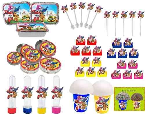 Kit Festa Infantil Super Wings 292 Peças