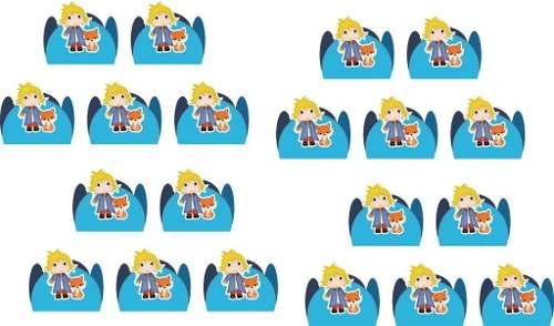 Kit Festa Infantil O Pequeno Príncipe Baby 160 Peças