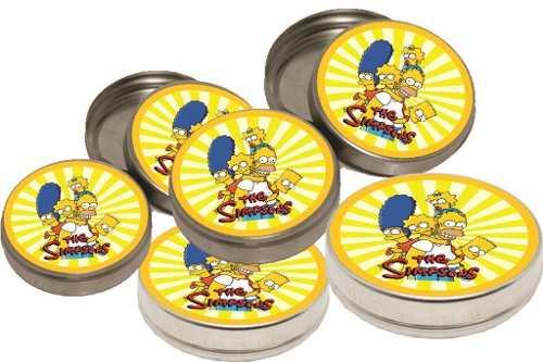 Kit Festa Infantil Os Simpsons 114 Peças