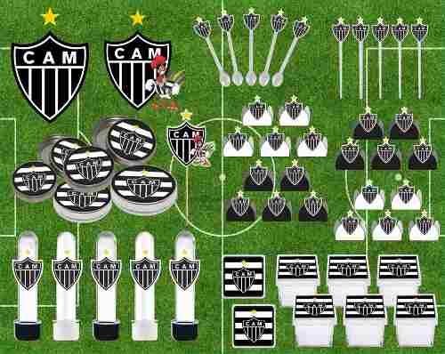 Kit Festa Time Atlético Mineiro 107 Peças