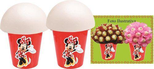 Kit Festa Infantil Minnie Vermelha 292 Peças