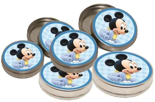 Kit Festa Infantil Mickey Baby 160 Peças