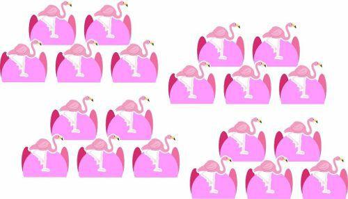 Kit Festa Infantil Flamingo 160 Peças