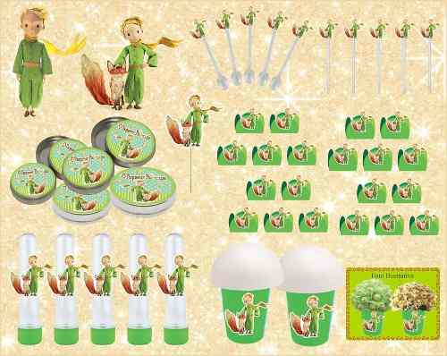 Kit Festa Infantil O Pequeno Príncipe 143 Peças