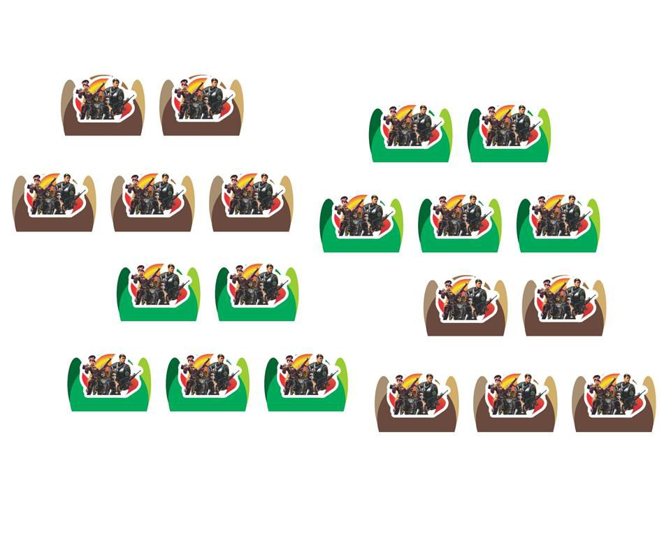 Festa Free Fire 113 peças (10 pessoas)