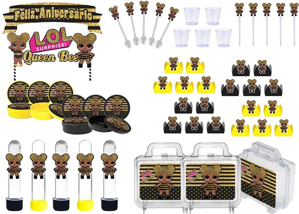 Festa Lol Queen Bee 111 peças (10 pessoas)