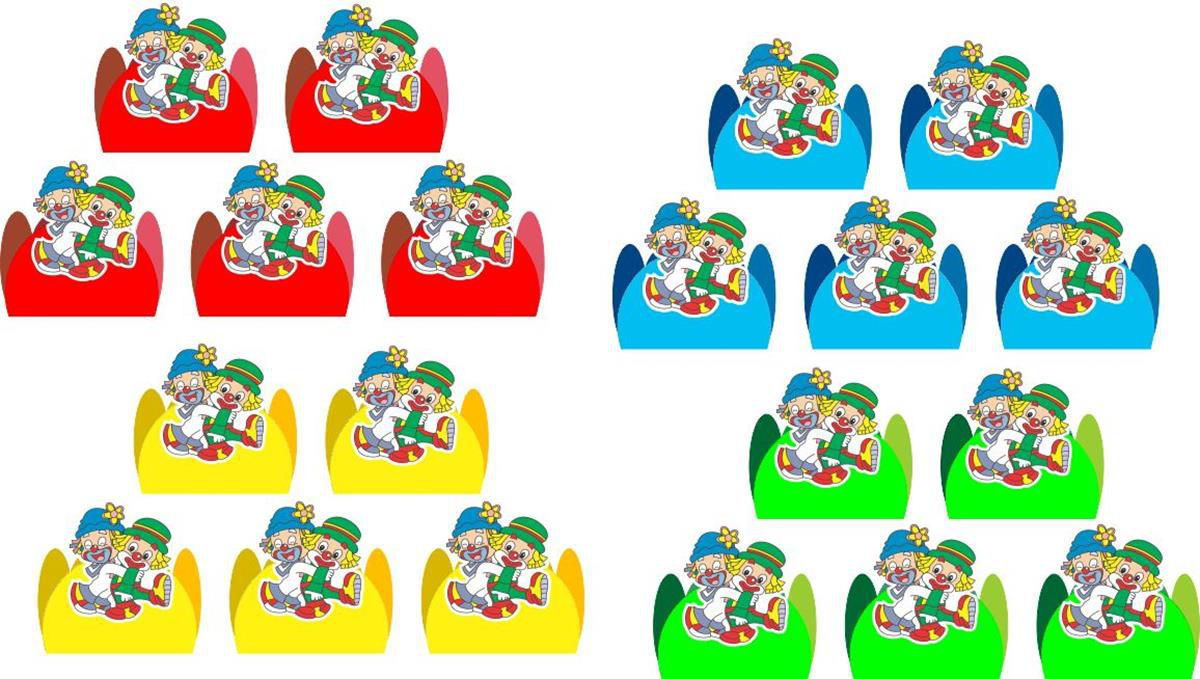 Kit Decorativo Infantil Patati Patatá 265 Peças