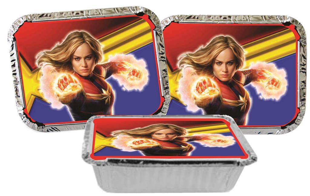 Kit festa Capitã Marvel 152 peças