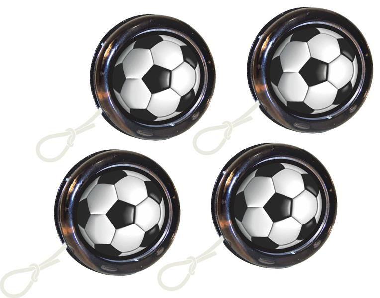 Kit festa Futebol (preto e branco) 173 peças