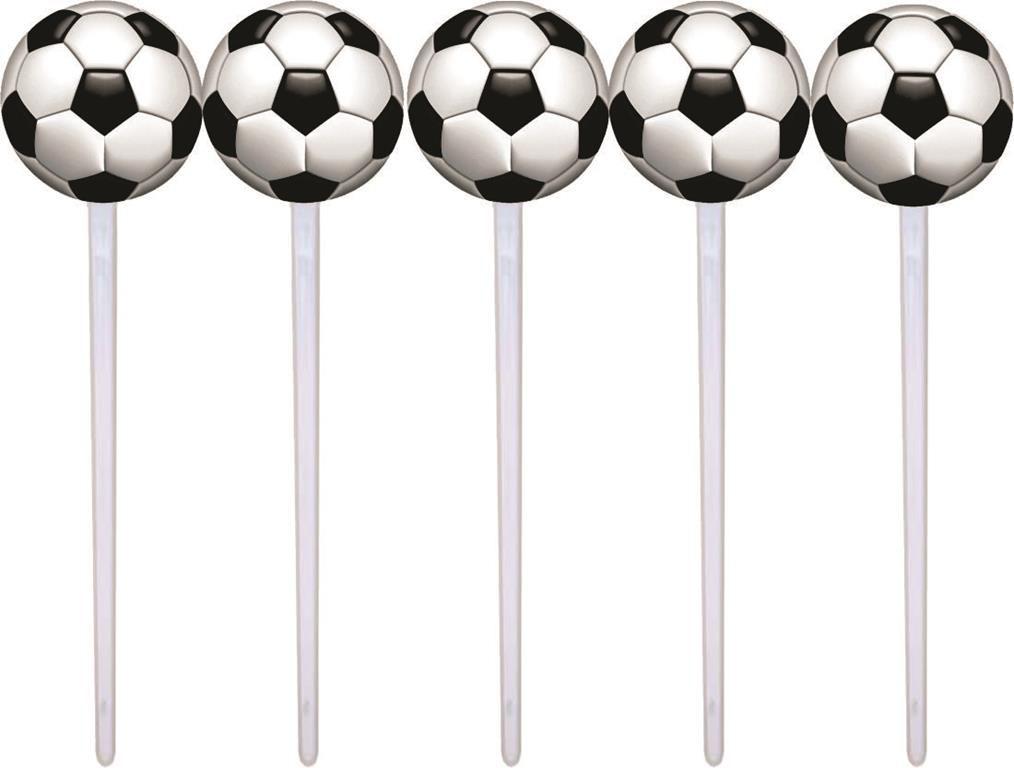 Kit festa futebol (preto e branco ) 152 peças