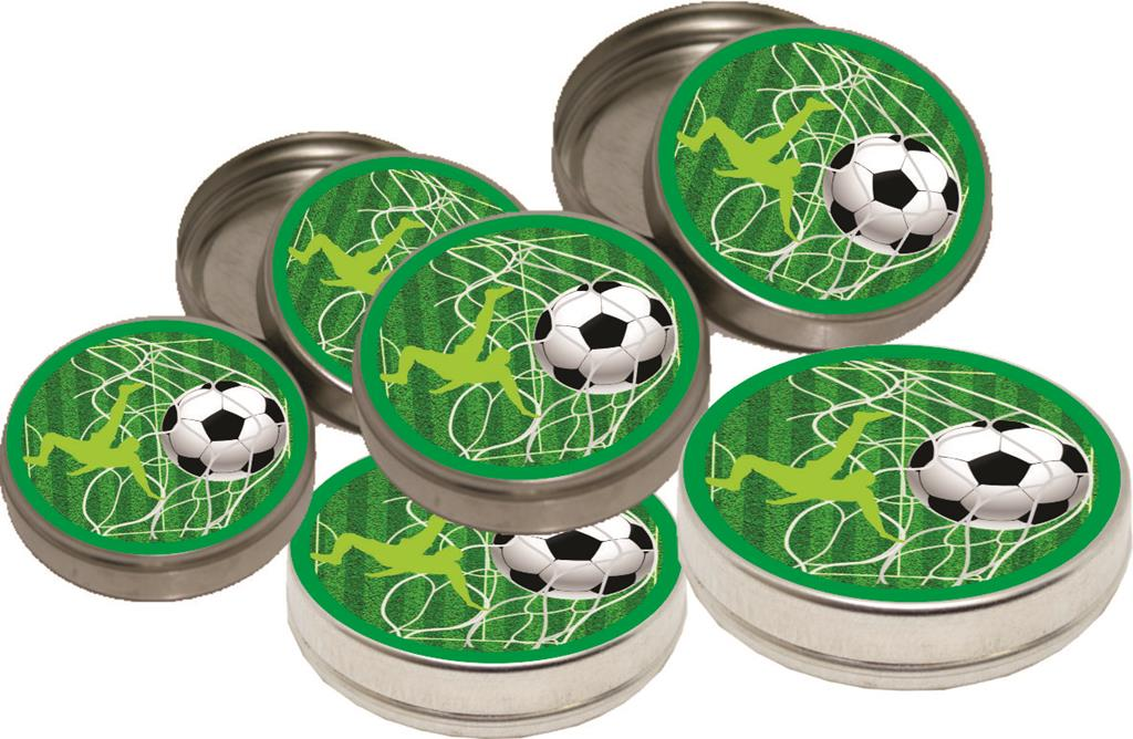 Kit festa Futebol (Preto e branco) modelo 2 143 peças