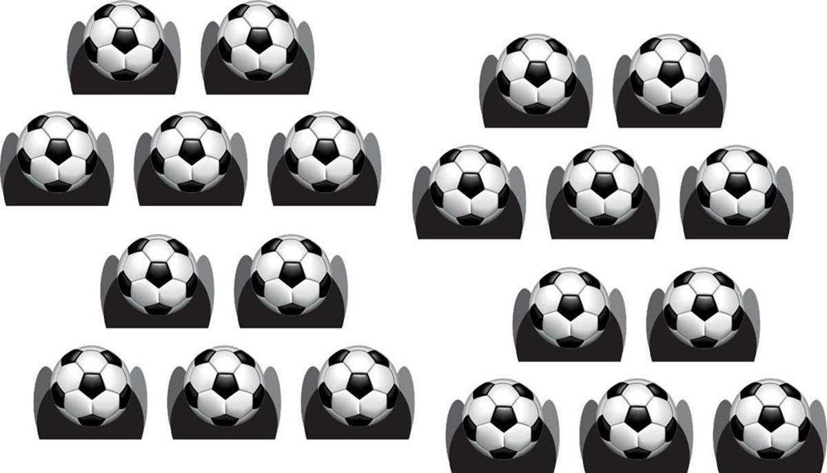 Kit festa Futebol (preto) mod novo 157 peças