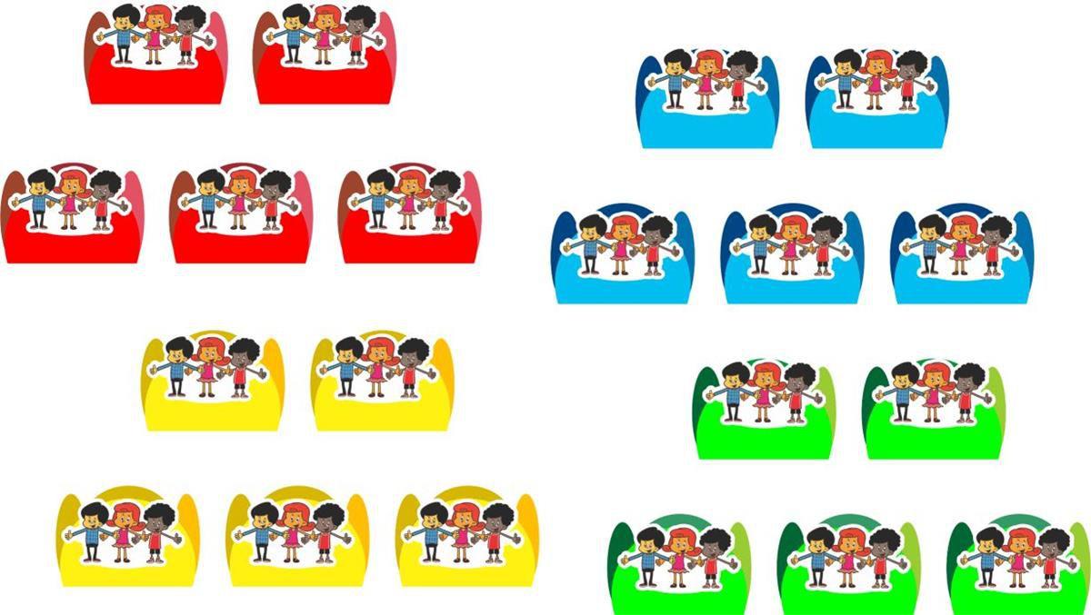 Kit festa infantil 3 Palavrinhas 155 peças