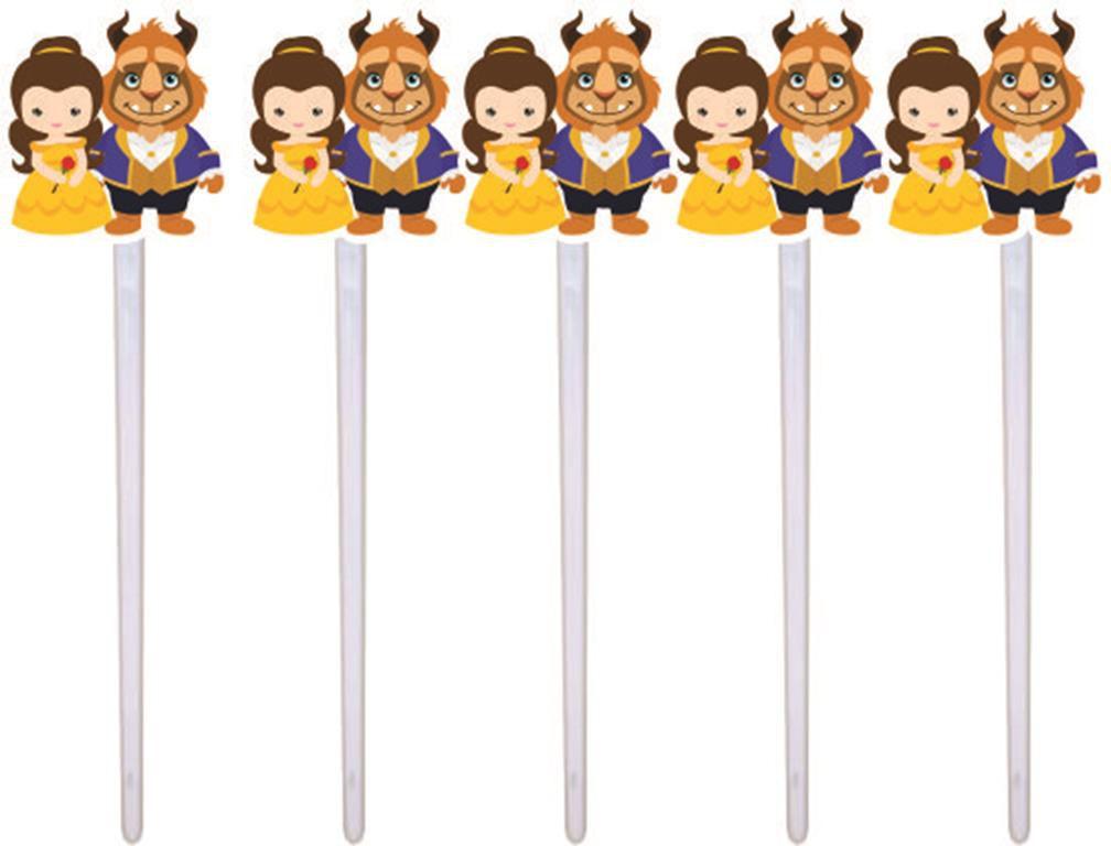 Kit festa Infantil A Bela e a Fera Baby (Cute) 143 peças