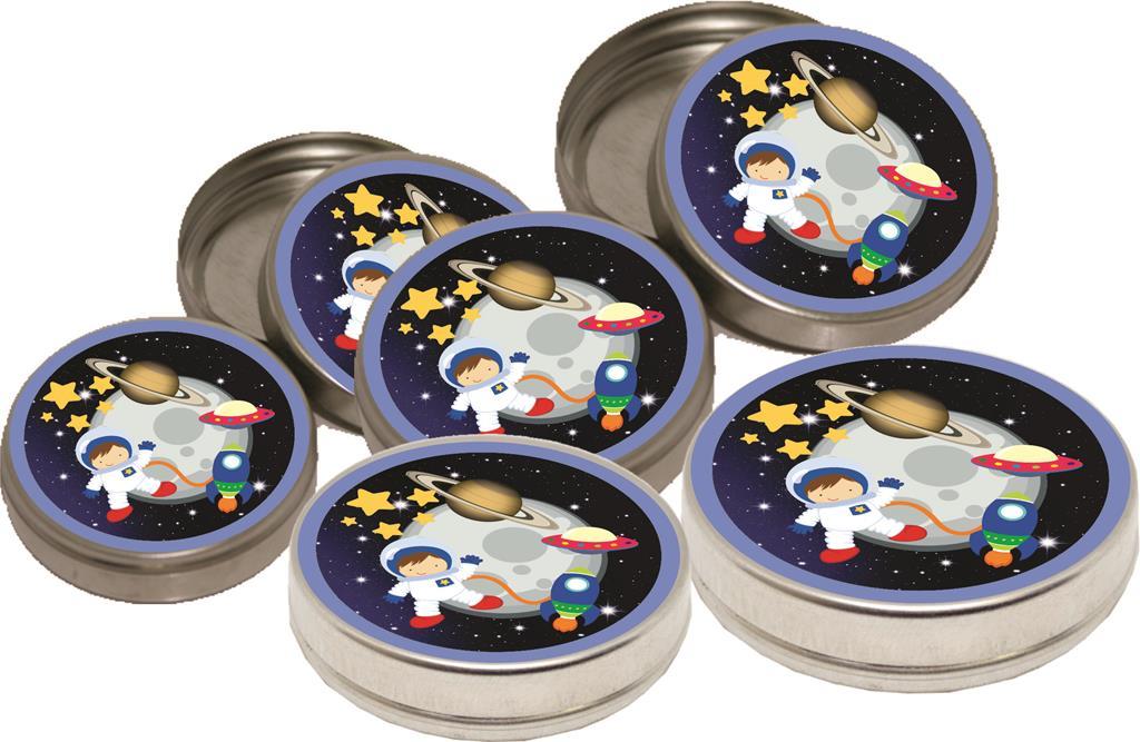 Kit festa Infantil Astronauta 160 peças