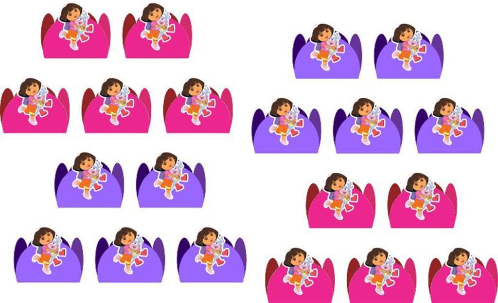 Kit festa Infantil Dora Aventureira 143 peças