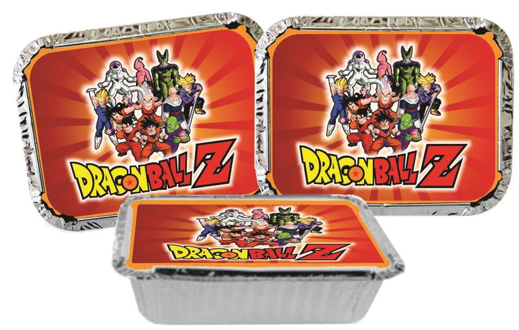 Kit Festa Infantil Dragon Ball  Z 292 Peças