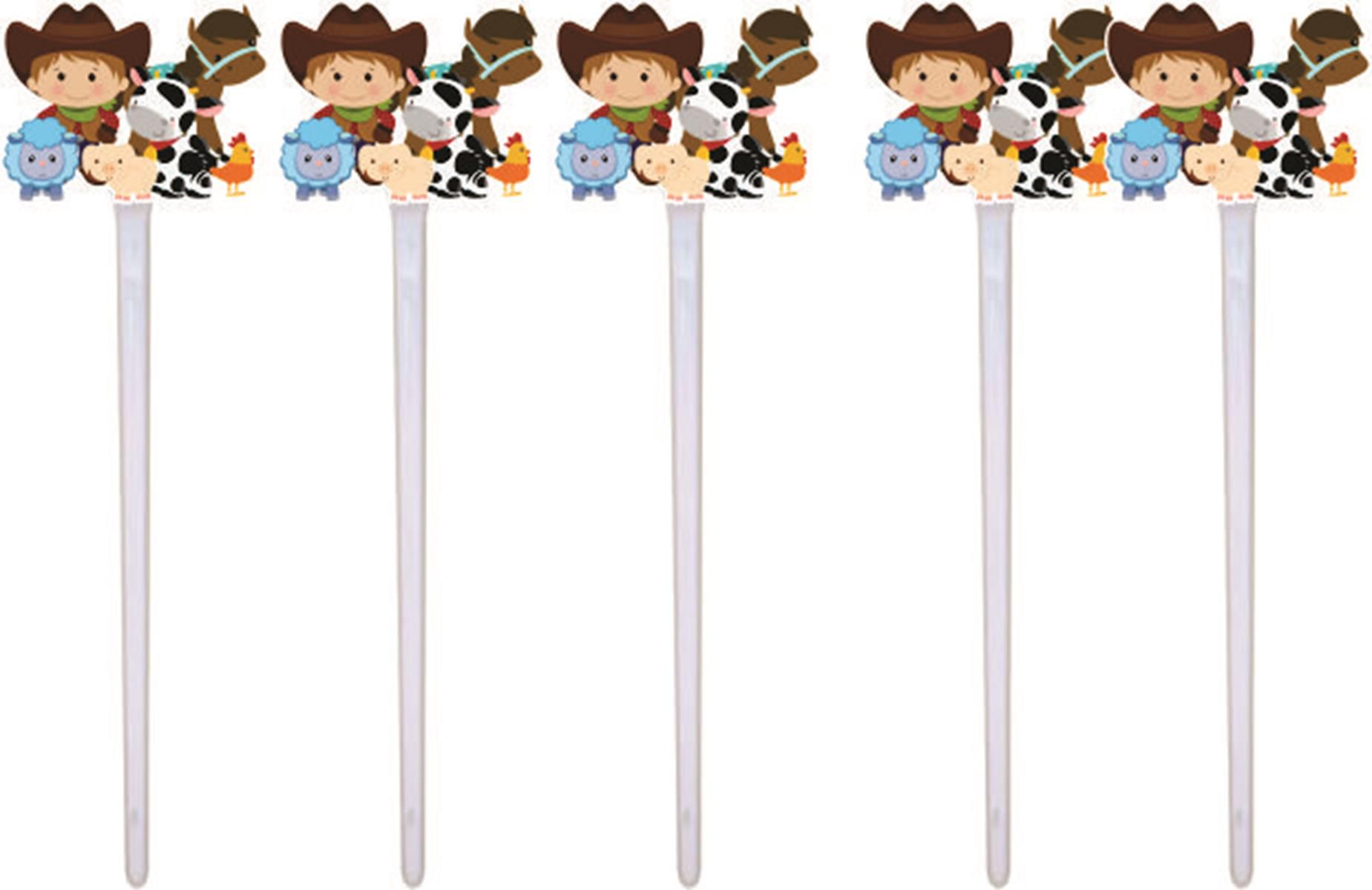 Kit Festa Infantil Fazendinha (menino) 160 Peças