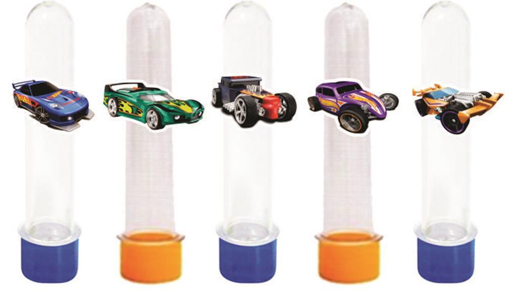 Kit Festa infantil Hot Wheels 155 peças