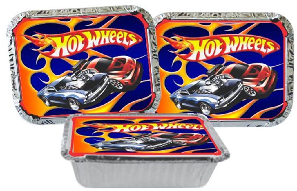 Kit festa Infantil Hot Wheels 160 peças