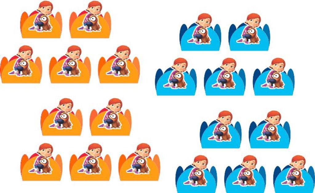 Kit festa infantil Lelê e Linguiça (Pat the Dog) 143 peças