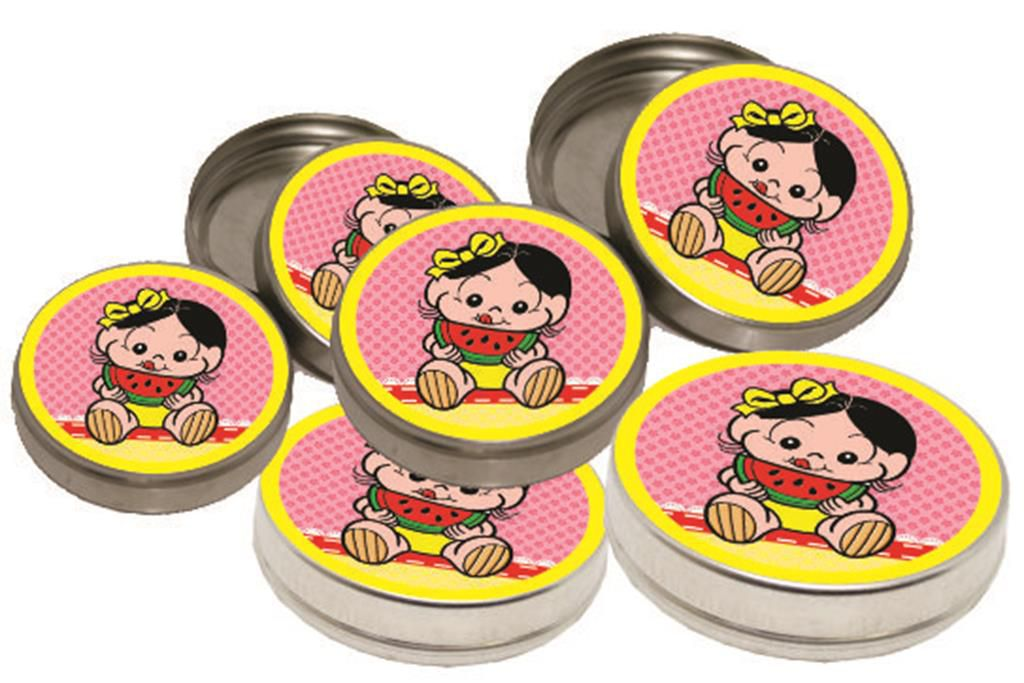 Kit festa Infantil Magali Baby 160 peças