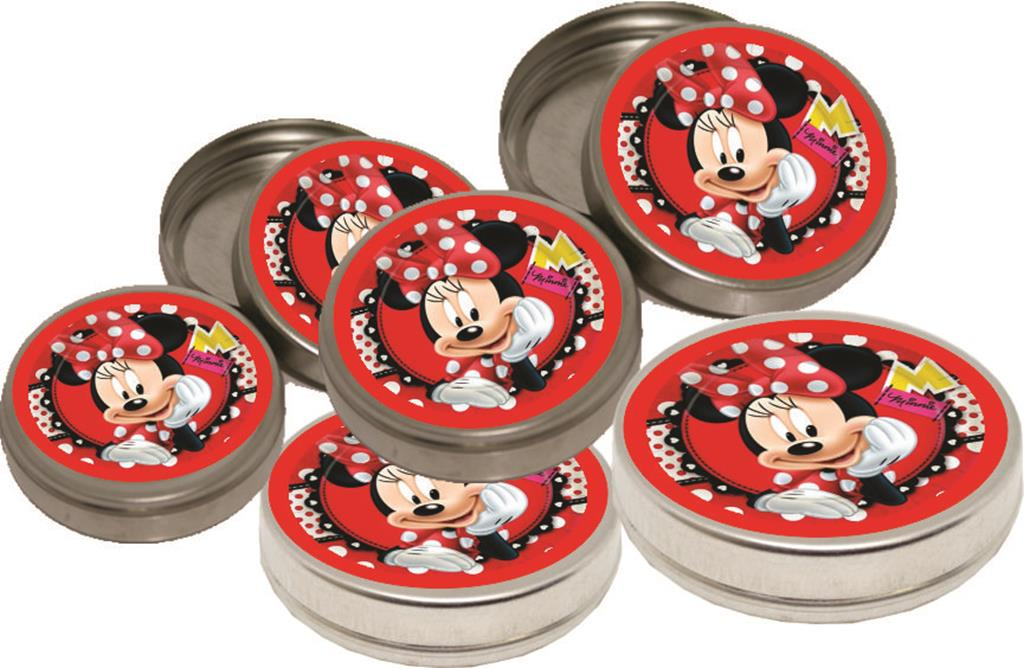 Kit Festa Infantil Minnie Vermelha 107 Peças
