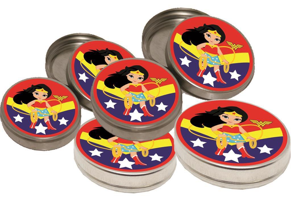 Kit Festa Infantil Mulher Maravilha Baby 160 Peças