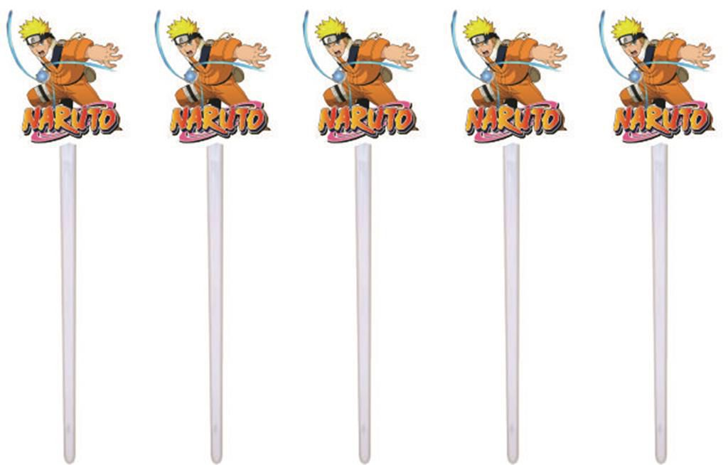 Kit Festa Infantil Naruto 107 Peças