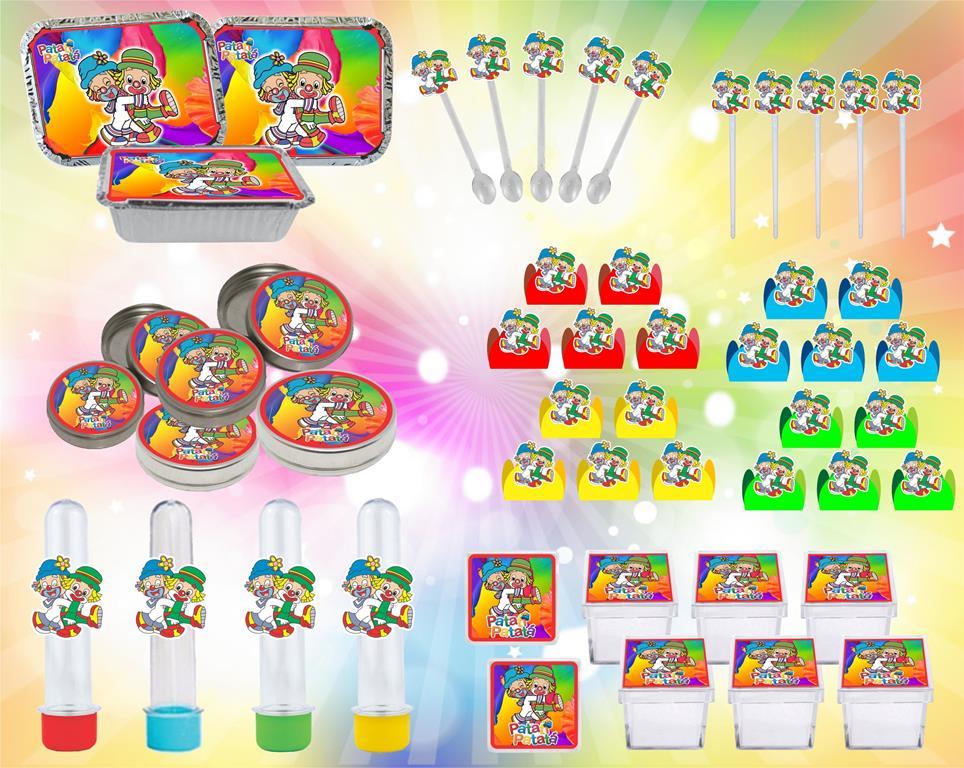 kit festa infantil Patati Patatá 114 pças