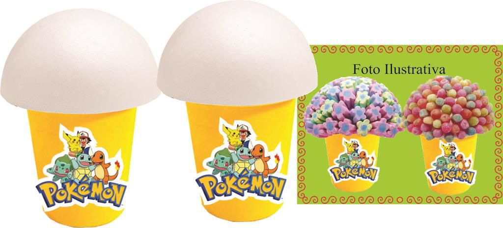 Kit Festa Infantil Pokemón (pikachu) 143 Peças