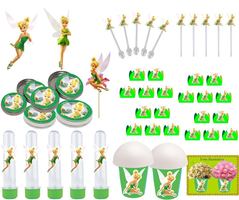 Kit festa Infantil Tinker Bell (Sininho) 265 peças