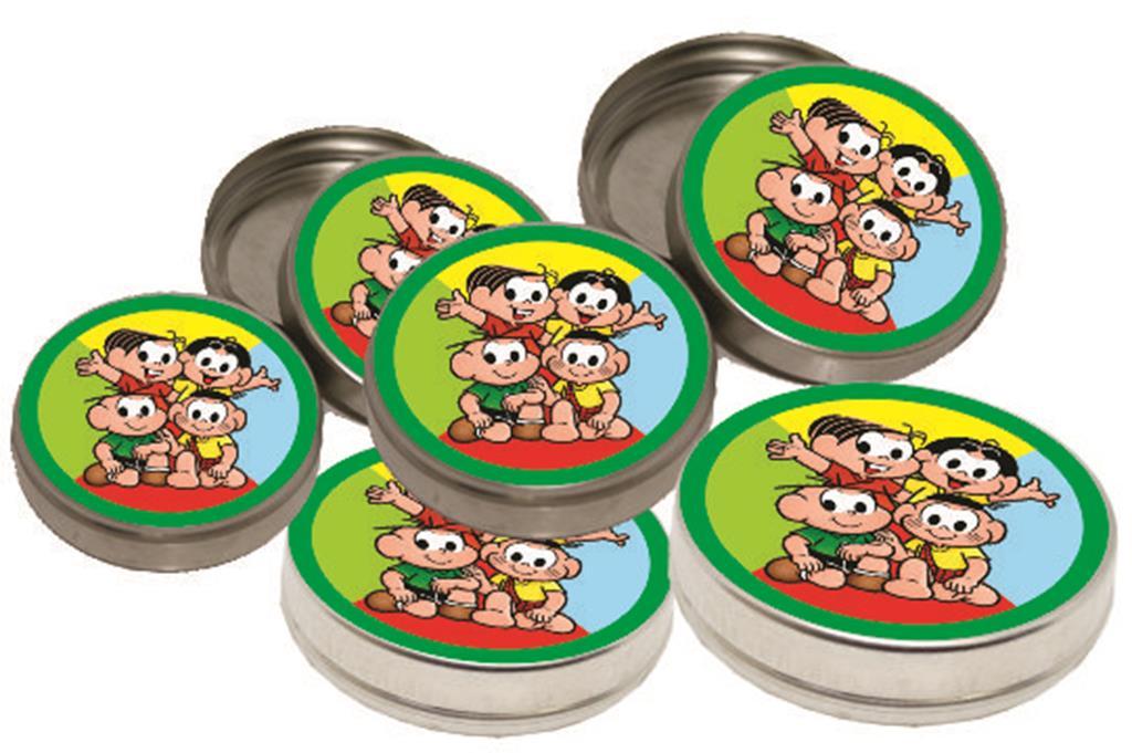 Kit festa Infantil Turma do Cebolinha 160 peças