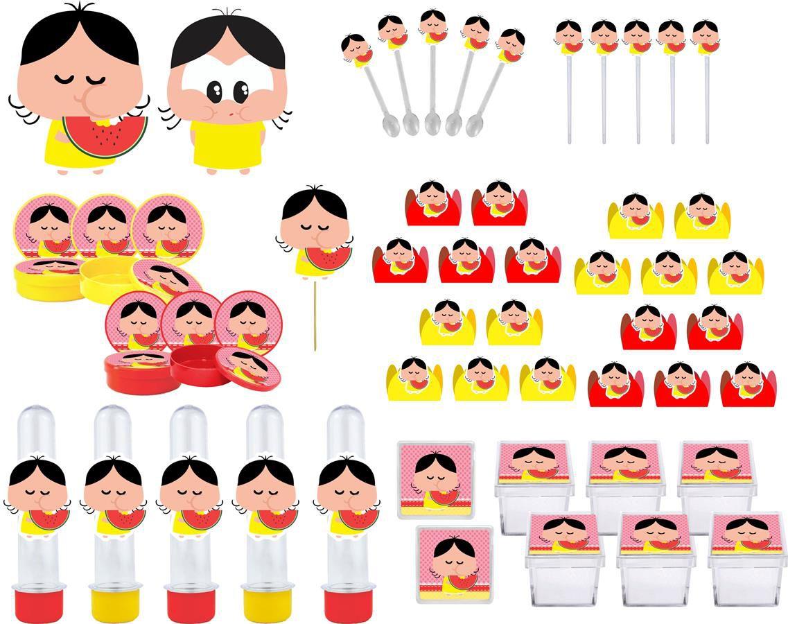 Kit festa Magali Toy 161 peças