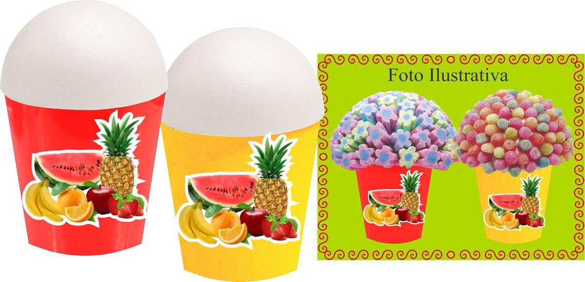 Kit festa Salada de Frutas 155 peças
