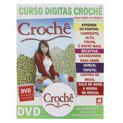 Curso Digitas Crochê - DVD + Revista/Curso - Passo a Passo