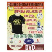 Curso Digitas Serigrafia(SilkScreen) - DVD + Revista/Curso - Passo a Passo