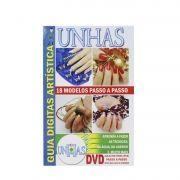 Guia Digitas Artística Unhas - Apostila + DVD - Passo a Passo