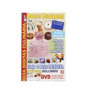 Guia Digitas Culinária Bolos Decorados - Apostila + DVD - Passo a Passo
