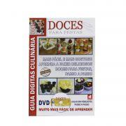 Guia Digitas Culinária Doces para Festas-  Apostila + DVD - Passo a Passo