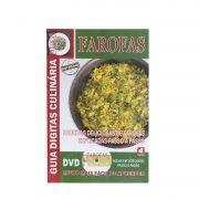 Guia Digitas Culinária Farofas - Livro + DVD - Passo a Passo