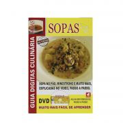 Guia Digitas Culinária Sopas - Livro + DVD - Passo a Passo