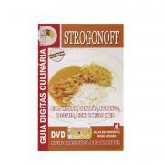 Guia Digitas Culinária Strogonoff - Livro + DVD - Passo a Passo