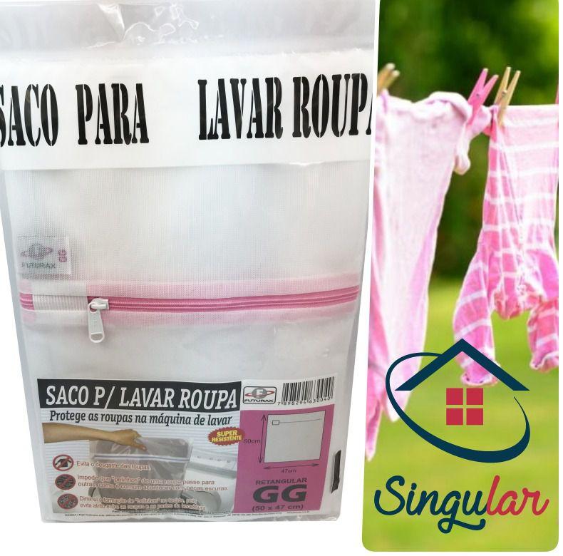 0ddaf2e65 saco lavar roupa tamanho gg 30040 - Singular Kasa