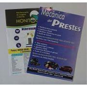 PANFLETO 10 X 14 - 4 X 0 - COLORIDO FRENTE - 90g