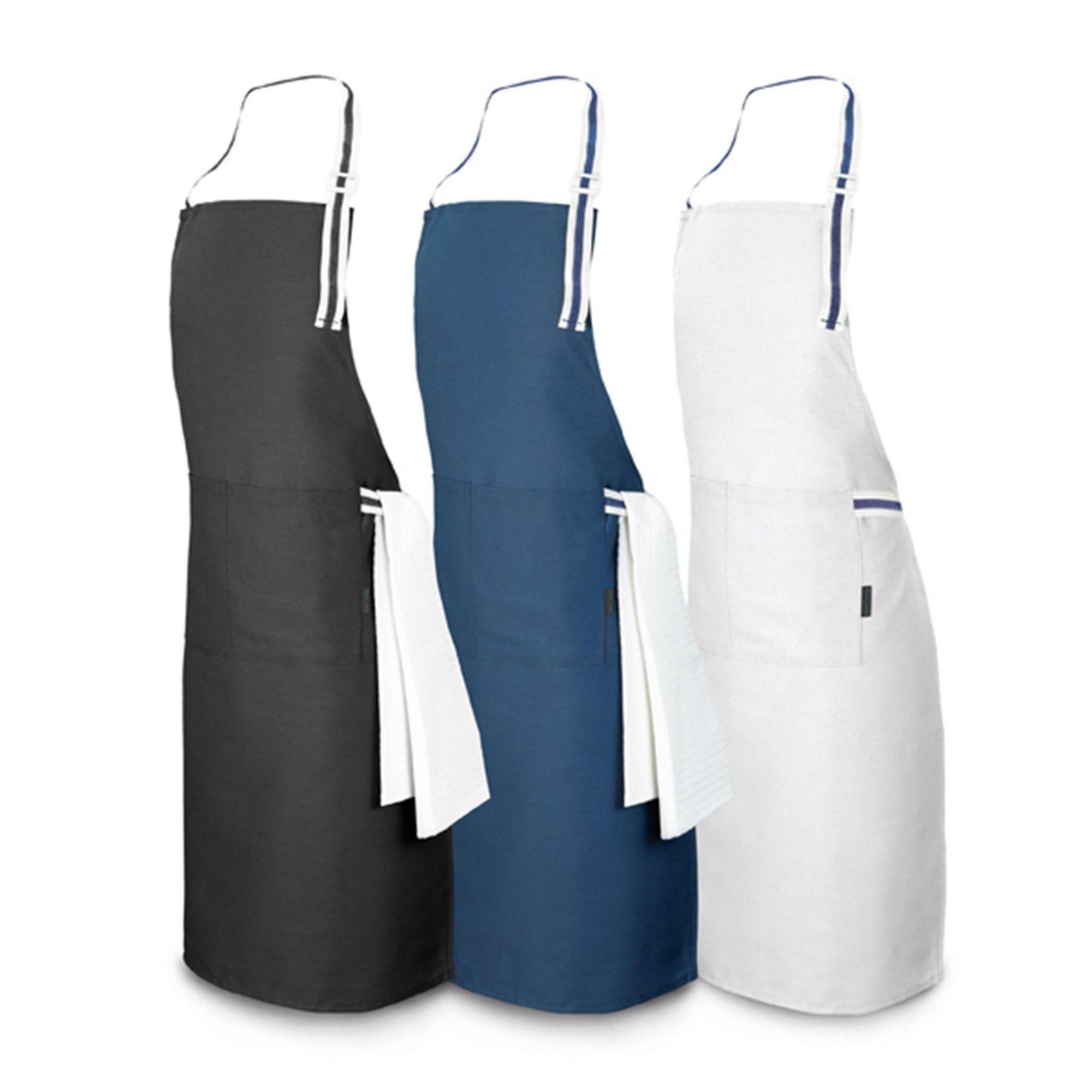 Avental c/ 2 bolsos  e alça lateral p/pano de copa