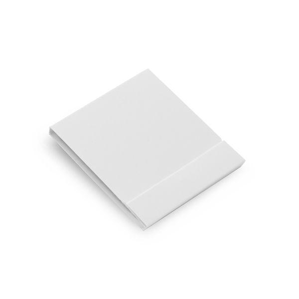 Kit de 6 lixas Unhas Preto e Branco