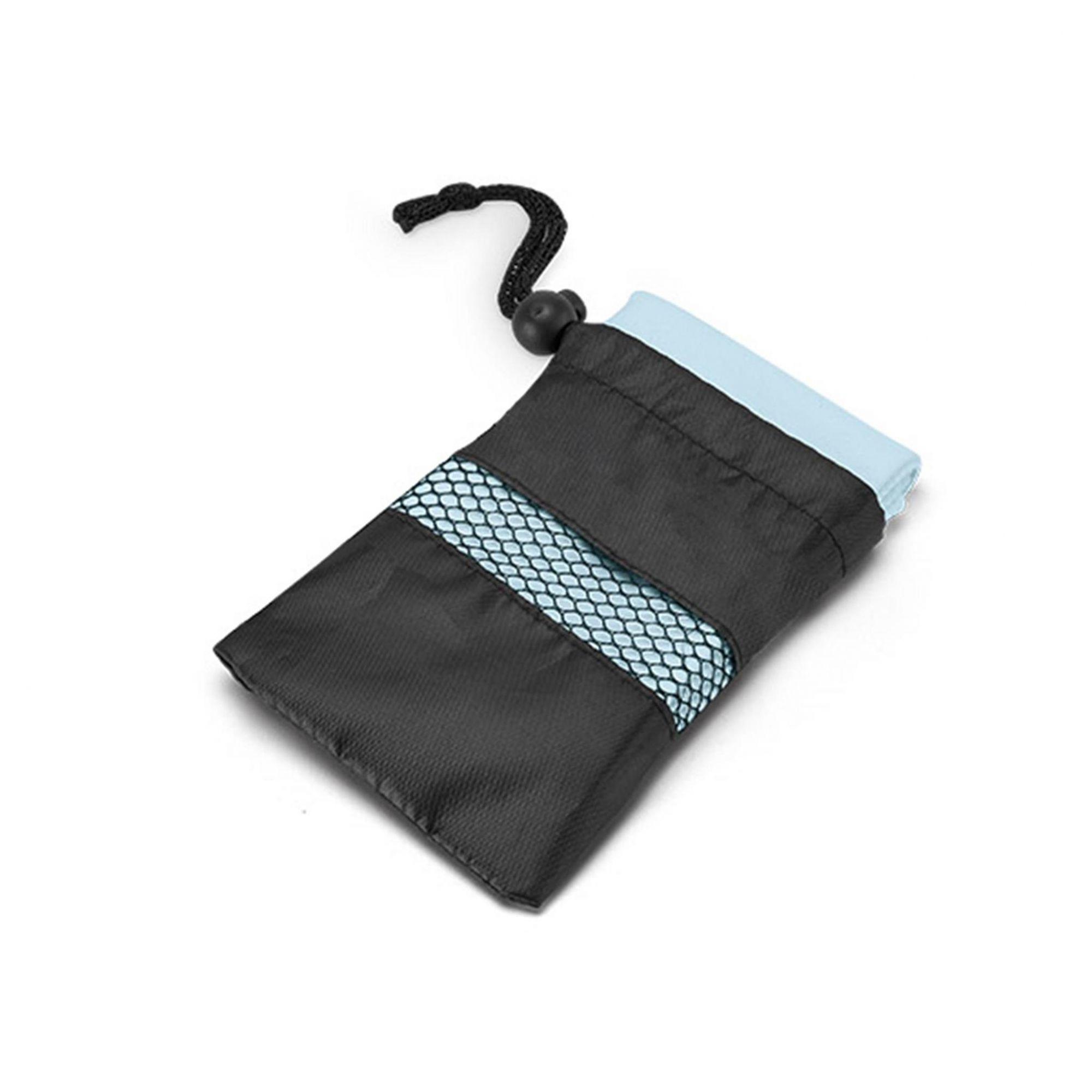 Toalha para esporte com bolsa