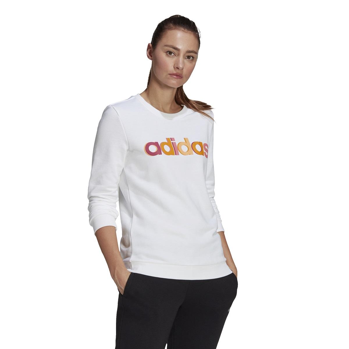 Blusão Moletom Adidas Essentials Linear Femininino