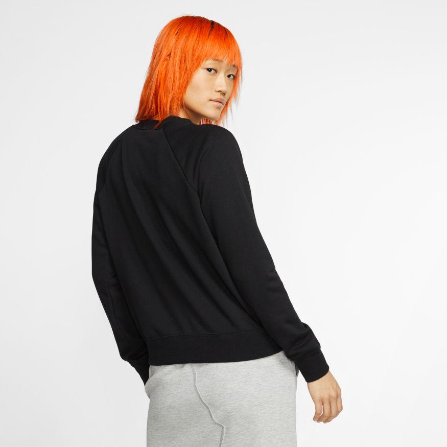 Blusão Moletom Nike Essentials Fleece Crew Feminino